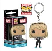 Spider-Man - Spider-Gwen Unhooded US Exclusive Pocket Pop! Keychain | Pop Vinyl