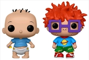 Rugrats - Tommy & Chuckie US Exclusive Pop! Vinyl 2-Pack | Pop Vinyl