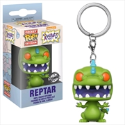 Rugrats - Reptar US Exclusive Pocket Pop! Keychain | Pop Vinyl