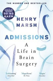 Admissions | Paperback Book