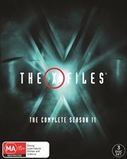 X-Files - Season 11 (BONUS STICKER)