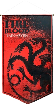 Game of Thrones - Targaryan Satin Banner