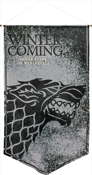 Game of Thrones - Stark of Winterfell Satin Banner