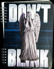 Doctor Who - Don't Blink Lenticular Journal