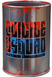 Suicide Squad - Logo Metal Can Cooler | Accessories