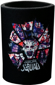 Suicide Squad - Shattered Group Shot Can Cooler | Accessories