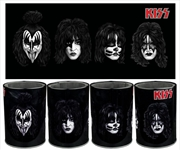 Kiss - Band Faces Metal Can Cooler | Accessories