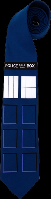 Doctor Who - TARDIS Necktie   Apparel