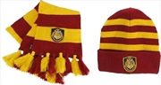 Harry Potter - Hogwarts Knit Hat & Scarf Set | Apparel