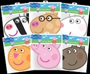 Peppa Pig - Peppa & Friends Masks 6-Pack | Apparel