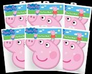 Peppa Pig - Peppa Pig Cardboard Masks 6-Pack | Apparel