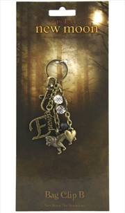 The Twilight Saga: New Moon - KeyRing BagClip B Edward | Accessories