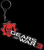Gears of War 3 - Logo Metal Keychain | Accessories