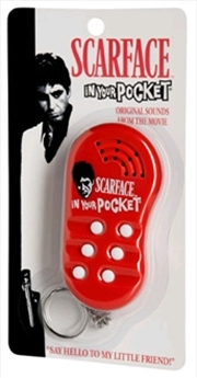 Scarface - In Your Pocket Talking Keychain | Accessories