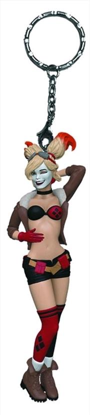 DC Bombshells - Harley Quinn Keychain