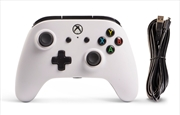Enhanced Wired Control: White | XBox One
