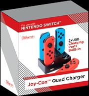 Nintendo Switch Quad Charger | Nintendo Switch