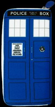 Doctor Who - Tardis Ladies Clutch Wallet | Apparel