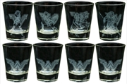 Wonder Woman Movie - Frosted Designs Shot Glass Set