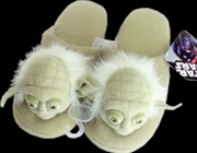 Yoda Slippers Large | Apparel