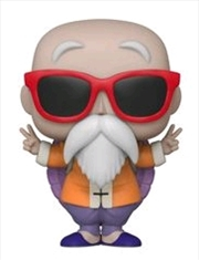 Master Roshi Peace Sign