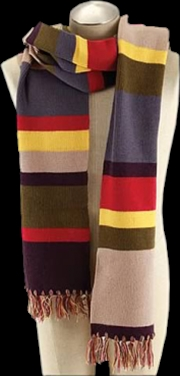 Fourth Doctor 12 Foot Scarf | Apparel