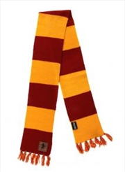 Gryffindor Patch Striped Scarf | Apparel