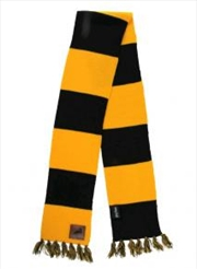 Hufflepuff Patch Striped Scarf | Apparel