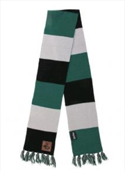 Slytherin Patch Striped Scarf | Apparel