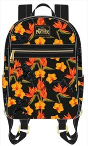 Black Panther - Floral Mini Backpack | Miscellaneous