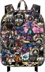 Overwatch - Collage Print Backpack | Miscellaneous