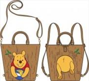 Pooh In Tree Tote Bag