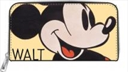 Disney - Mickey Zip-Around Wallet