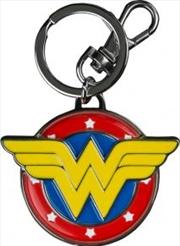 Wonder Woman - Logo Colour Enamel Keychain