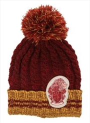 Harry Potter - Gryffindor Heathered Pom Beanie | Apparel