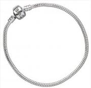 Silver Charm Bracelet 19cm