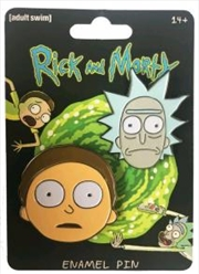 Rick And Morty Enamel Pin Set