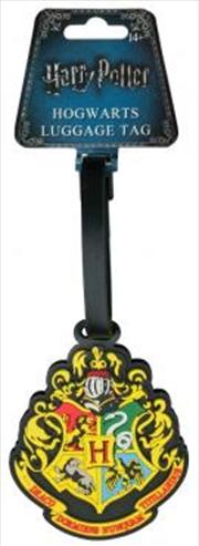 Hogwarts Logo Luggage Tag