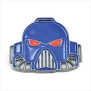 Space Marine Helmet Enamel Bad