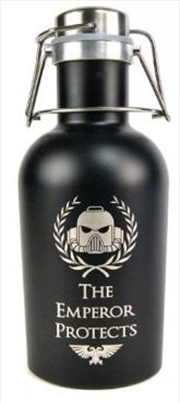 Space Marine Beer Growler Cant