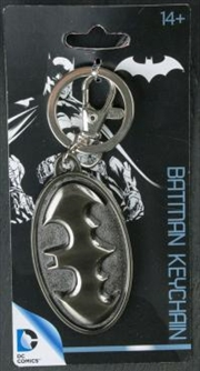 Batman - Batman Logo Pewter Keychain | Accessories