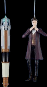 11th Doctor And Sonic Xmas | Collectable