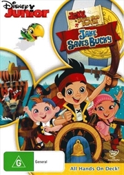 Jake And The Never Land Pirates - Jake Saves Bucky | DVD