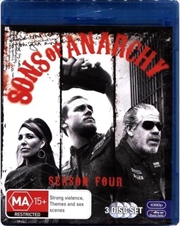 Sons Of Anarchy - Season 4 | Blu-ray