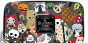 The Nightmare Before Christmas - Collage Zip-Around Wallet