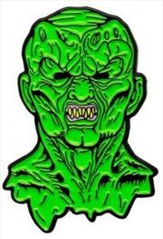 Haunted Mask Enamel Pin