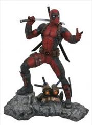 Deadpool Marvel Premier Collection Resin Statue