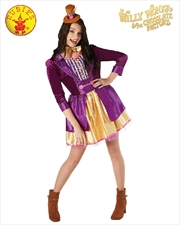 Willy Wonka Ladies Deluxe Costume - Size L | Apparel