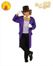 Willy Wonka Child Classic Costume - Size L | Apparel