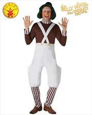Oompa Loompa Deluxe Adult Costume - Size S | Apparel